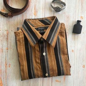 Sean Jean Men's Button Down Shirt A58